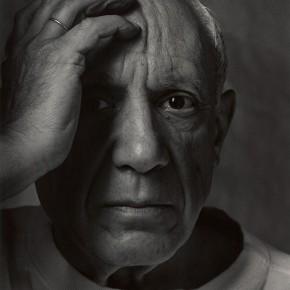 "Arnold Newman: ""Pablo Picasso"", Vallauris, Frankreich, 1954"
