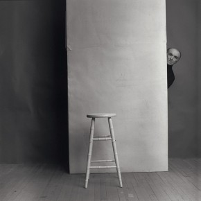 "Arnold Newman: ""Robert Doisneau"", New York, 1981"