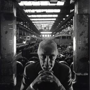 """Arnold Newman: """"Alfried Krupp"""", Essen, 1963"""