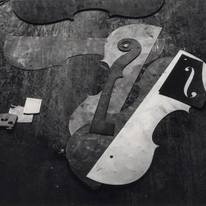 "Arnold Newman: ""Violin Shop"", Philadelphia, Pennsylvania, 1941"