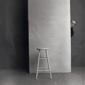 """Arnold Newman: """"Robert Doisneau"""", New York, 1981"""