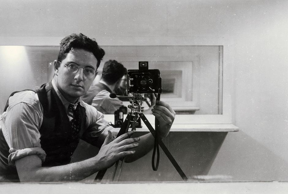 Камера, показваща душите: Arnold Newman