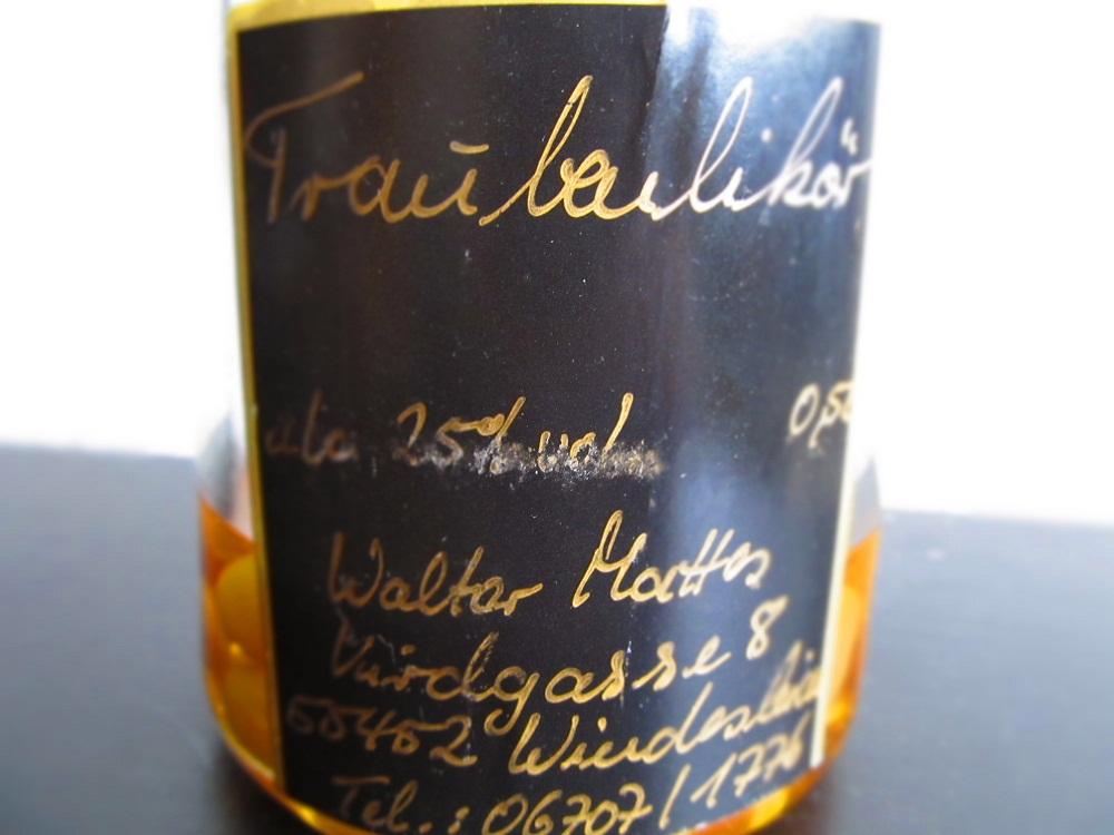 Traubenlikör aus Deutschland